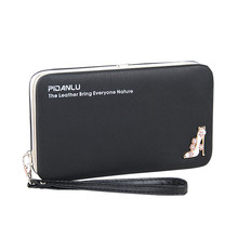 Women Long Clutch Wallet Large Capacity Wallets Female Purse Lady Purses Phone Pocket Card Holder Carteras new arrival women wallets high quality female long purse lattice women s coin wallet lady clutch cell phone pocket big promotion