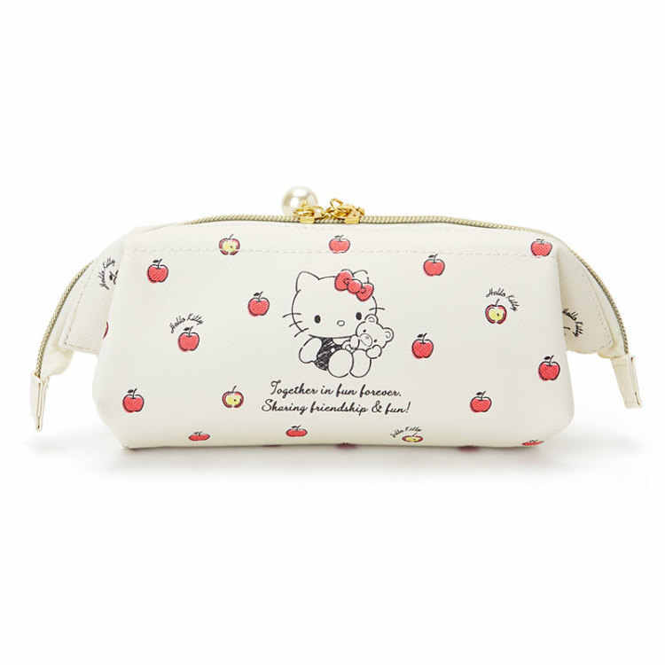 336f9df50 ... Cute Cartoon Hello Kitty My Melody School Pencil Case Pen Bag for Girls  Kids Make Up ...
