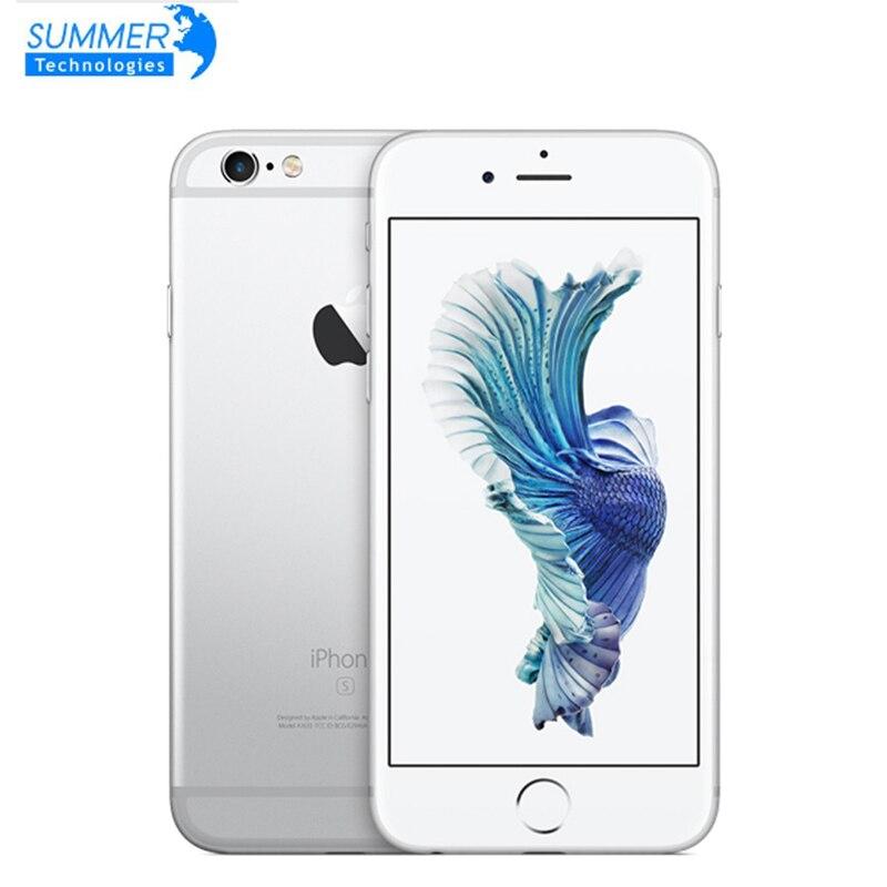 Apple iPhone 6S teléfono inteligente Original desbloqueado 4,7