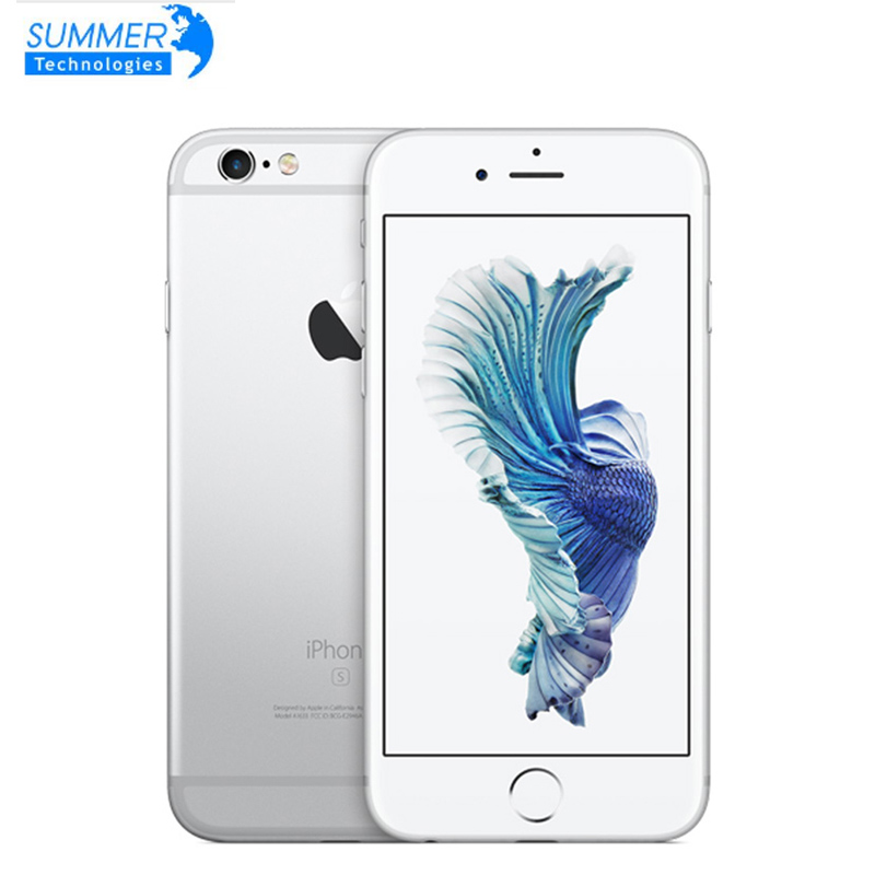 Apple iPhone 6S Original 16gb 2GB LTE Fingerprint Recognition Used IOS Unlocked Dual-Core title=