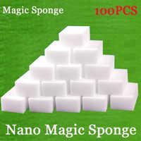 30/50/80/100pcs Melamine Sponge Nona Magic Sponge Eraser Cleaner Cleaning Sponges for Dish Wash Kitchen Bathroom Cleaning Tools