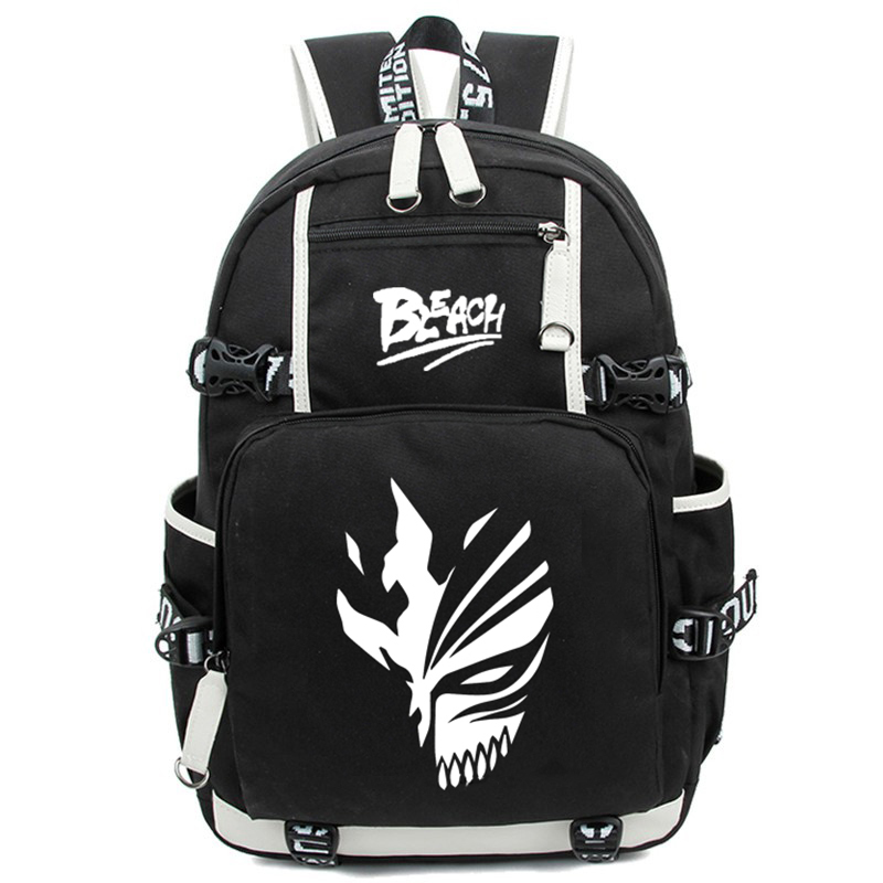 Hot Janpan Anime Ichigo Kurosaki Luminous Backpack Fashion Cartoon Bleach Rucksack Children Students School Bags Mochila 2017 japan hot cartoon tokyo ghoul anime 3d jacquared students school backpack women bags large capacity men school bags mochila