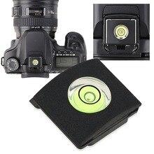 OOTDTY крышка Горячий башмак Крышка пузырьковый уровень для Canon Nikon Olympus Pentax DSLR дропшиппинг