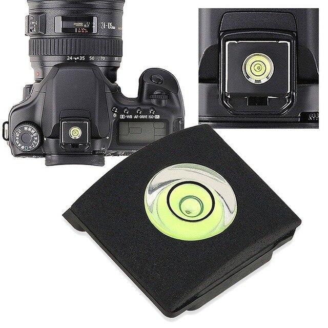 OOTDTY Hot Shoe Bìa Cap Bubble Thần Cấp Đối Với Canon Nikon Olympus Pentax DSLR Dropshipping