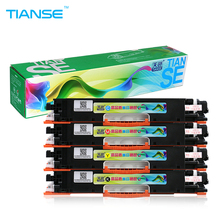 TIANSE 130A for HP130A Color Toner Cartridge CF350A CF351A CF352A CF353A for HP Color LaserJet Pro MFP M176n, M176 M177fw M177 py compatible toner cartridge cf350a 350a cf351a cf352a cf353a 130a for hp color laserjet pro mfp m176n m176 m177fw m177