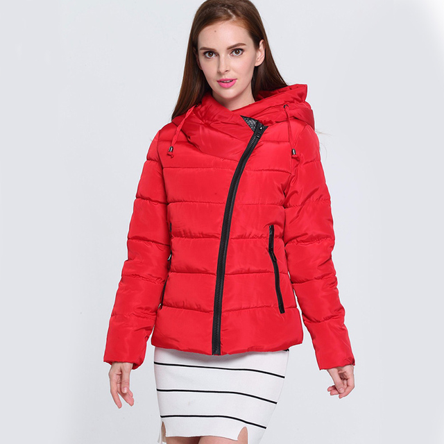 7c9400bee US $54.53 |New High Quality Winter Jacket Women Parka Plue Size Women's  Lightweight Jackets Ladies Hooded Ultra light Down Jacket DR6259-in Parkas  ...
