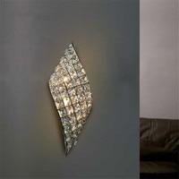 Modern LED Wall Lamp Crystal Wall Lights For aisle corridor Bedroom Mirror Lamp light Sconce luminaria living room fixture