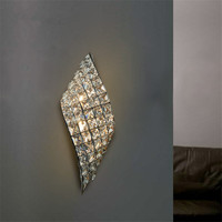 Modern LED Wall Lamp Crystal Wall Lights For aisle corridor Bedroom Mirror Lamp light Sconce luminaria living room fixture