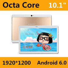 Anruf 10,1 Zoll Tablet pc Android 6.0 Original 3G 4G Android Octa-core 4 GB RAM 32 GB ROM WiFi FM IPS LCD 1920*1200 Tabletten Pc