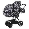 Os gêmeos carrinho de criança alta paisagem carrinho de bebê do carro