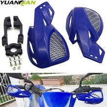 цена на Universal 22mm Handguard Hand Guard Protector For KTM HONDA YAMAHA SUZUKI bmw kawasaki Motorcross ATV Dirt Pit Bike Motorcycle