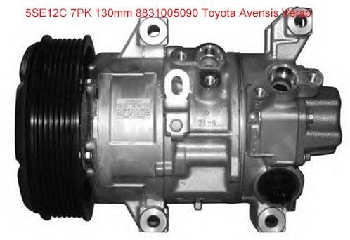 Compressor ac auto para Toyota Corolla Avensis Verso 2.0 2.4 5SE12 denso 8831005090 447180-5640 447260-1741