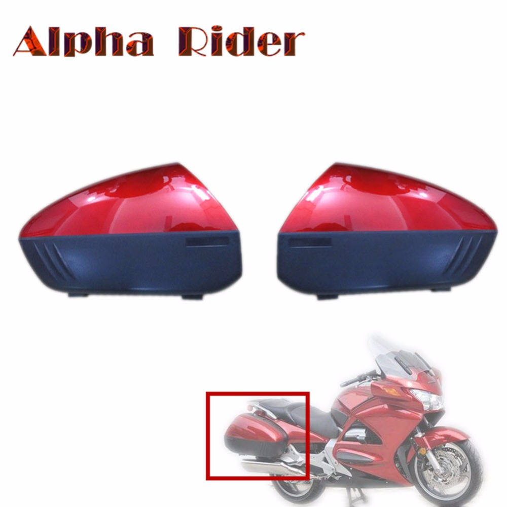 Left/Right Motorcycle Saddlebag Tool Luggage Trunk Saddle Bags Side Case  Boxes for Honda ST1300 ST 1300 Pan European 2002 2009-in Leather & Saddle  Bags from ...