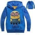 spring autumn boys hoodies and sweatshirts teenage boys hoodies Minions baby girl hoodies toddler MS1623