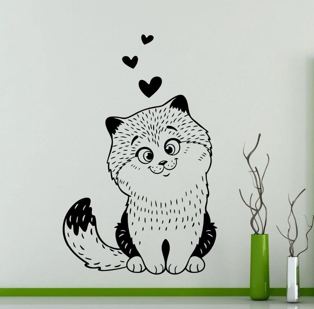 っTodo patrón serie del gato arte diseñado etiquetas de la pared ...