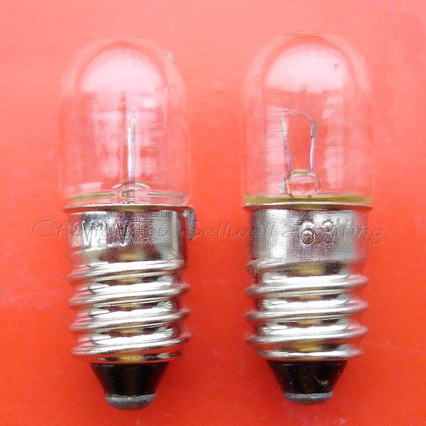 f8d7e65067247a Livraison Gratuite Grand! miniature Lumière Ampoule 6.3 v 1 w E10 T10x28  A503