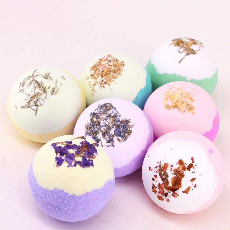 NEW-Organic Bath Bombs Body Essential Oil Bath Ball Natural Bubble Bath Bombs Ball-01