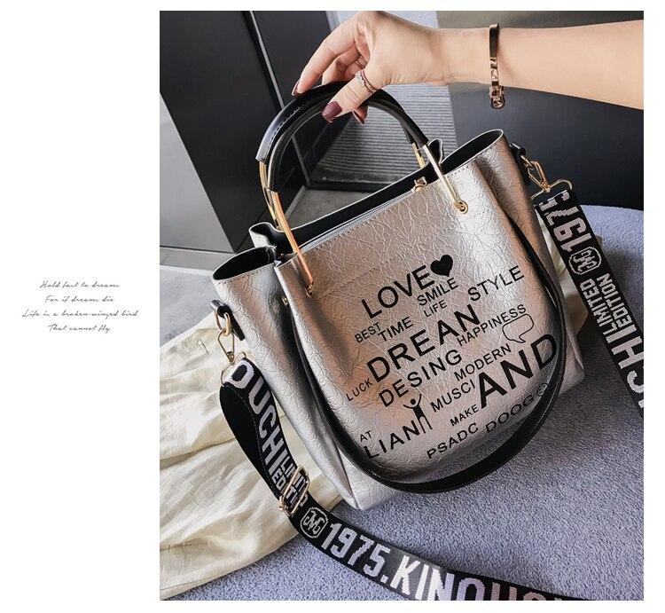 ombro saco do mensageiro moda bolsa pintada