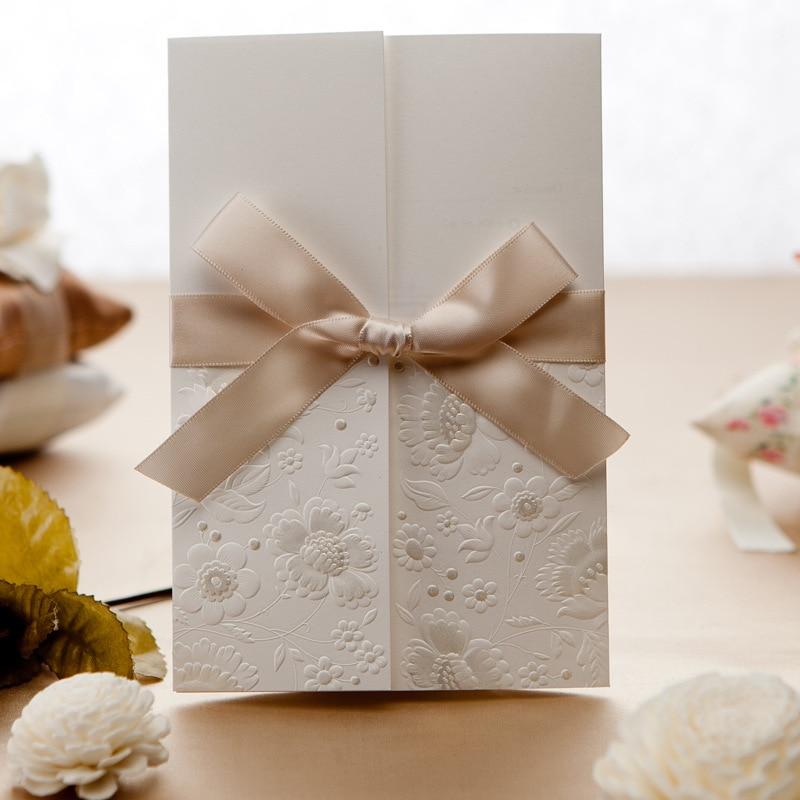 Online Get Cheap Bows for Wedding Invitations Aliexpresscom