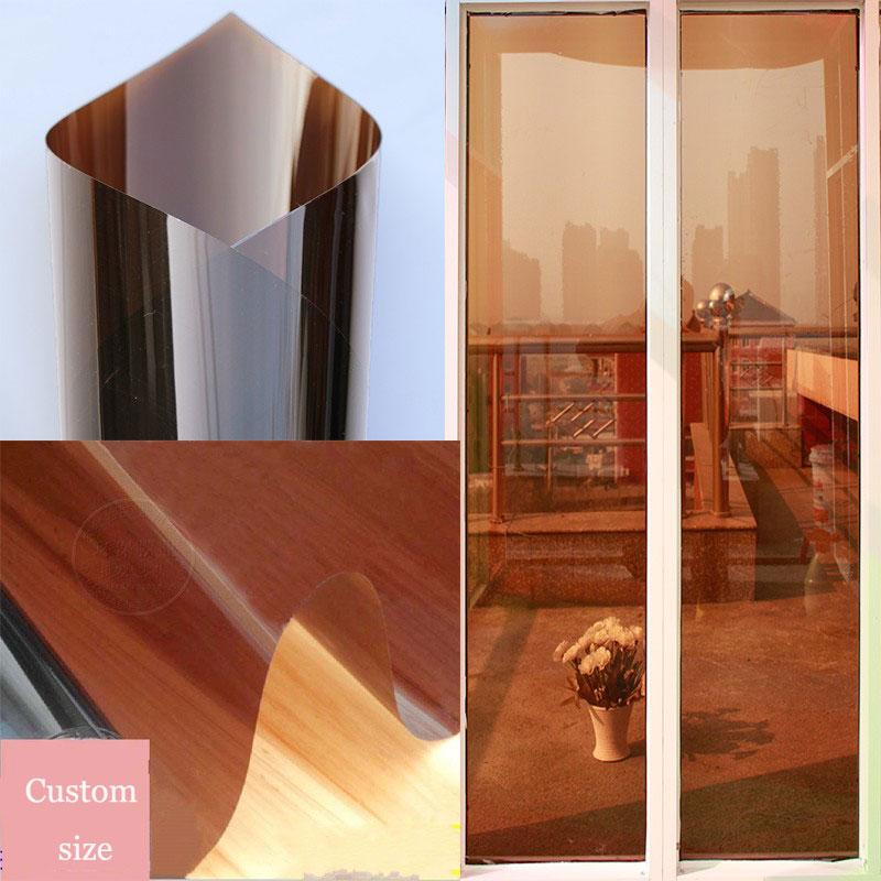 reflective mirror film anti uv heat insulation decorative. Black Bedroom Furniture Sets. Home Design Ideas
