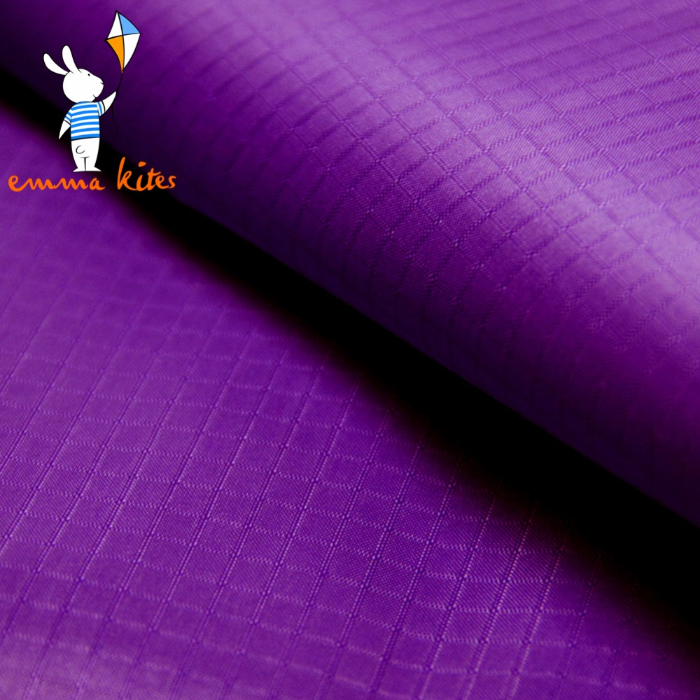 Discount outdoor fabric by the yard - Purple 1 7yard Wide X 1yard Long Outdoor Waterproof Fabric Lightweight Pu Coated Ripstop Nylon Fabric