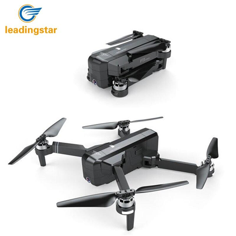 LeadingStar SJRC F11 gps 5 г Wi Fi FPV системы с P 1080 p камера 25 минут время полета бесщеточный селфи RC Drone Quadcopter