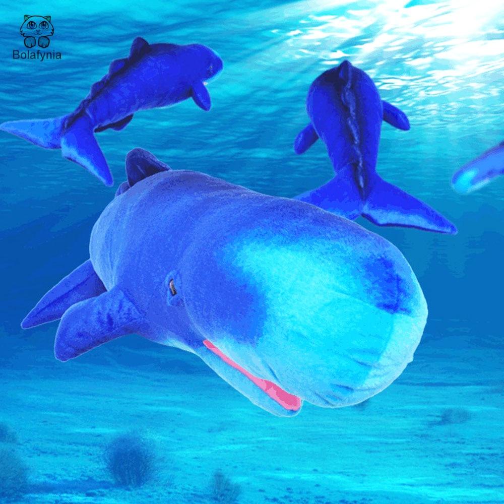 Bolafynia Children Plush Stuffed Toy Sperm Whale Marine