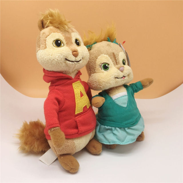 Online Shop Ty Beanie Baby Alvin and the Chipmunks Alvin Plush Toy ... fc8e524c4ef2