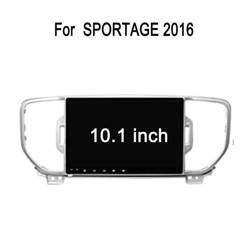 Octa Core Android 7.1 Fit KIA Sportage 2015 2016 2017 Car DVD Player Navigation GPS Radio