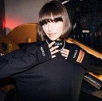 18FW NEW Hip Hop Heron Preston Men Women Letter Embroidery Long Sleeves Tshirt japan Fashion Cotton T Shirt Priming shirt S XL