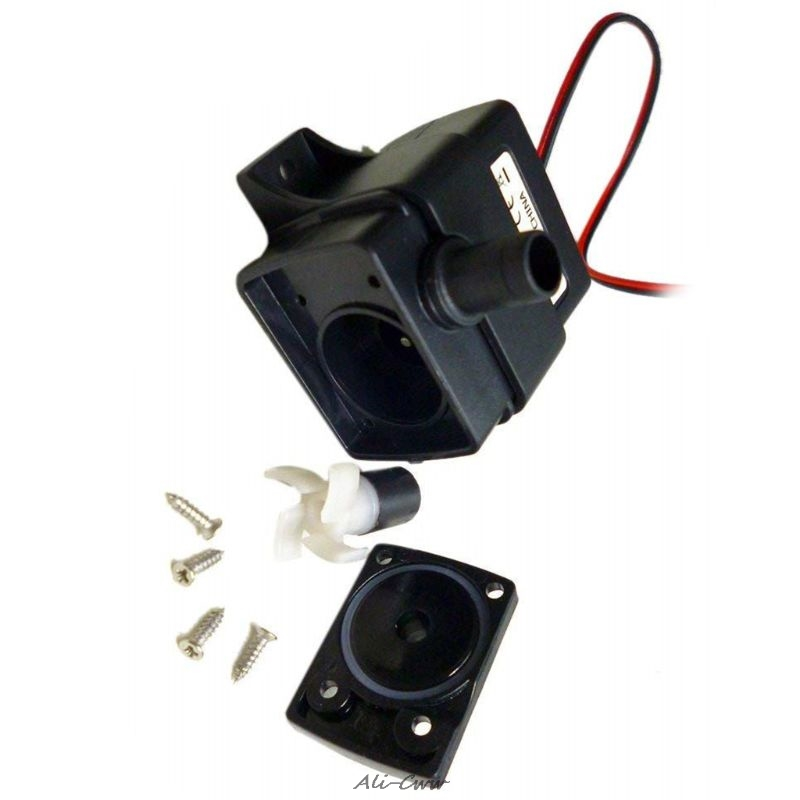 12V 3m 240L/H Ultra Quiet Brushless Motor Submersible Pool Water Pump Solar RF