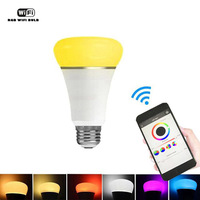 Home Automation Wireless Smart Wifi Bulb LED Night Light Switch E27 RGB Multicolor Compatible With Alexa
