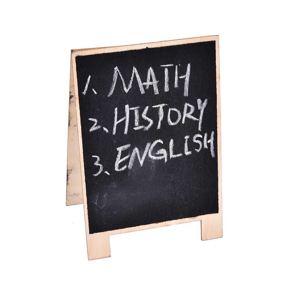Detail Feedback Questions about 1pc Wooden Blackboard