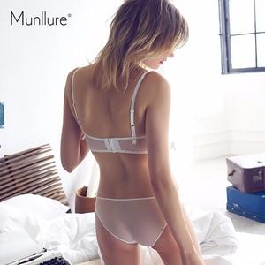 Image 3 - Munllure Deep V ชุดชั้นใน charm ลูกไม้ตกแต่งรูปแบบเซ็กซี่ charming ultra บางชุด