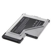 2 porta escondida 54mm usb 3.0 expresscard adaptador de cartão de expansão para portátil|Cartões para acréscimos| |  -