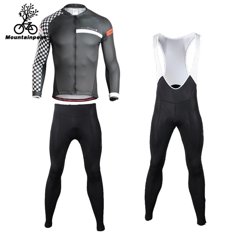 Mountainpeak 2018 Long Sleeve Riding Suit Mens Sun Cycling Suit Womens Tight Riding Pants Abbigliamento Ciclismo Estivo