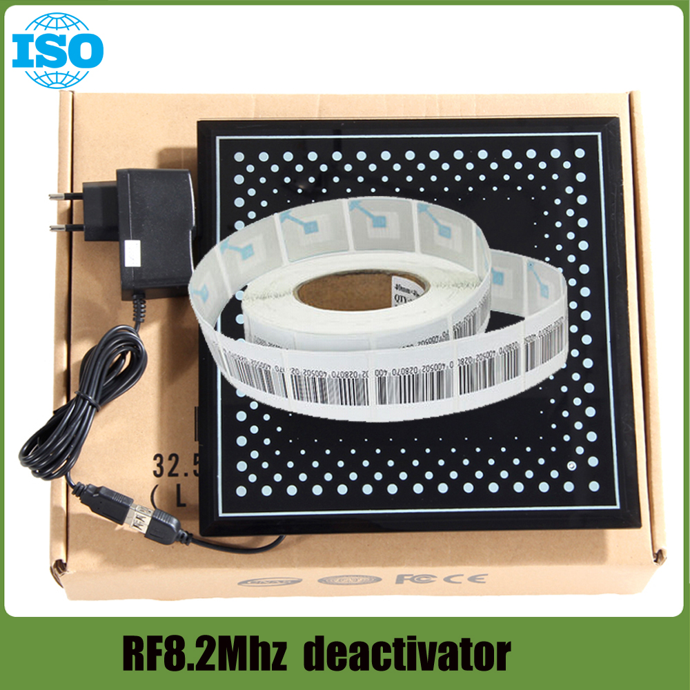 Eas Soft Label Deactivator For RF 8.2mhz eas System 110V-240V durable use clothing store anti theft systems цена