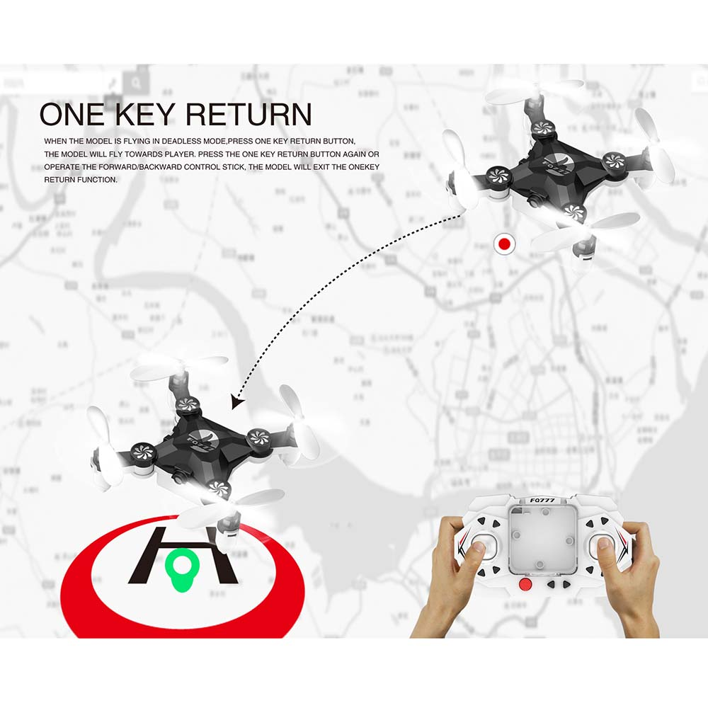 Image 4 - Pocket drone  Mini UAV Portable Unmanned Aerial Vehicle Folding Portable Aircraft Remote Helicopter-in RC Helicopters from Toys & Hobbies