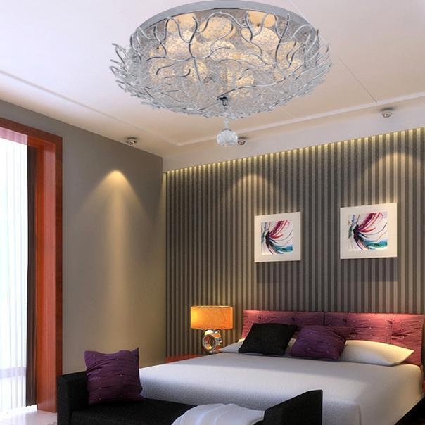 Round Aluminum Ceiling Living Room Roof Lighting Fixtures Personalized Childrens Bedroom Decoration Ideas