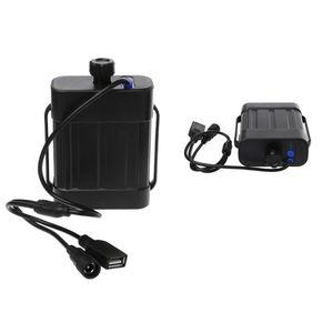 Image 4 - 2X18650 26650 8.4V akumulator obudowa baterii wodoodporny dom pokrywa pojemnik na baterie z ładowarką DC/USB