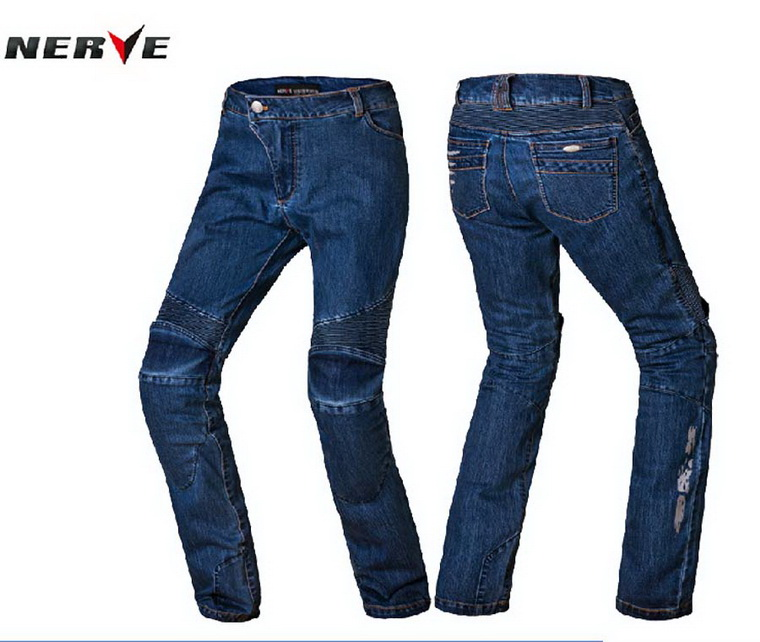 2016 New Genuine NERVE motorcycle riding jeans spring and summer drop resistance racing riding pants brace for man knight