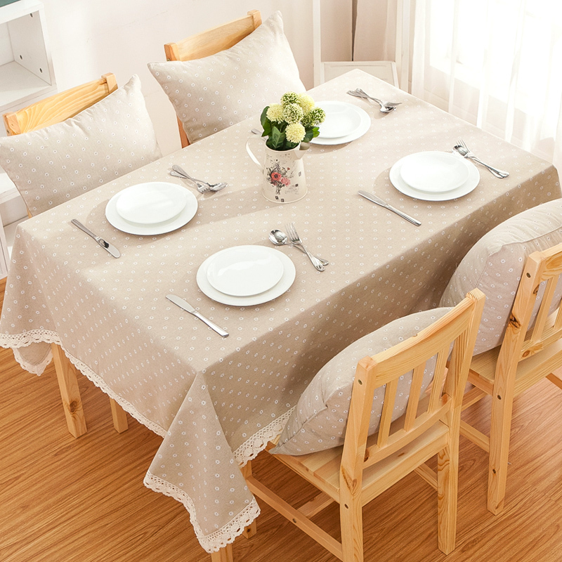 cotton tablecloth lace table cloth fabric european. Black Bedroom Furniture Sets. Home Design Ideas