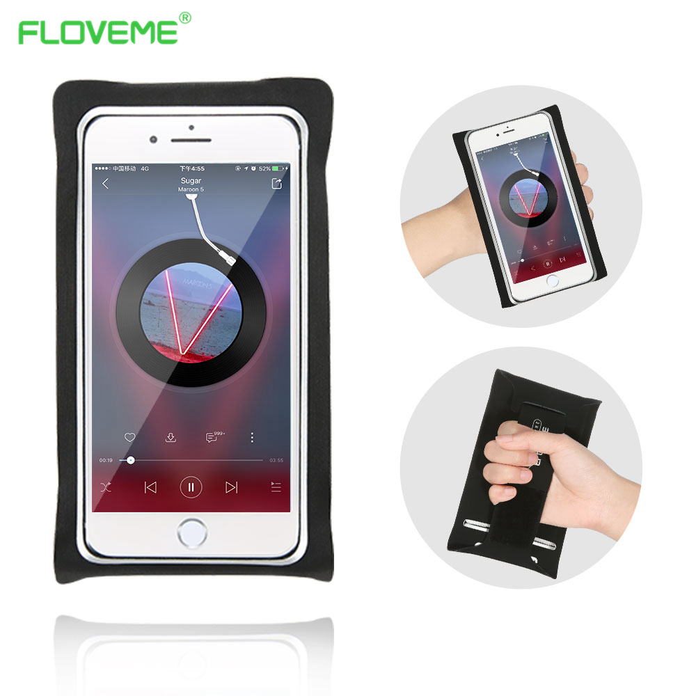 FLOVEME Gym Running Bag For iPhone 6 6s 7 Plus 8 Plus Case Universal 5.5 inch With Wrist Strap Sport Punch For Galaxy S8 S8 Plus
