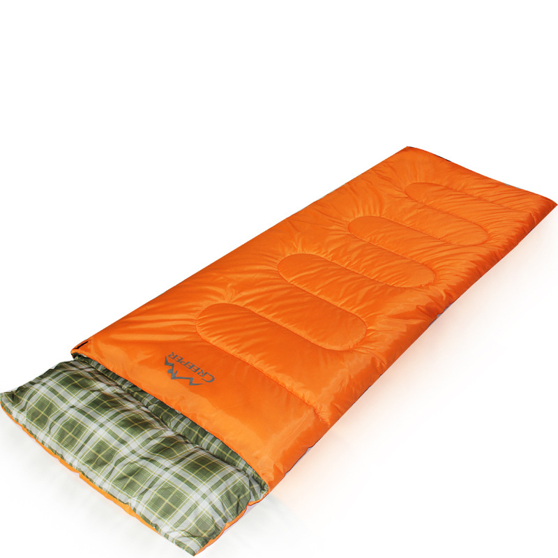 outlet store c3535 b5d48 US $39.02 44% OFF|Spliced Single Envelope Sleeping Bag Waterproof Thermal  Sleeping Bags Outdoor Camping Tent Accessories Equipment-in Sleeping Bags  ...