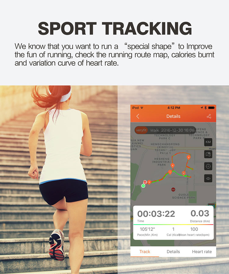 FENTORN Smart Wristbands ID130 Plus Color HR Smart Band Activity Tracker Fitness Smart Bracelet with pedometer for Xiaomi Iphone phones (4)