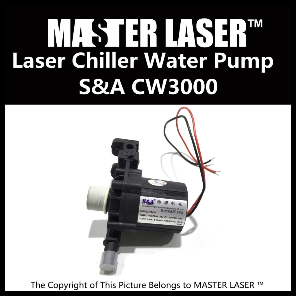 CO2 60W Laser Cutting Machine Industry Water Cooling 40W Laser Marking Machine Chiller CW-3000 Water Pump high quality southern laser cast line instrument marking device 4lines ml313 the laser level
