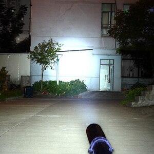Image 5 - 8000LM T6 светодиодный фонарь с шипами Mace светодиодный фонарик в виде бейсбольной биты светодиодный фонарик безопасности летучая мышь Самозащита 3 режима патруль перезаряжаемый фонарь