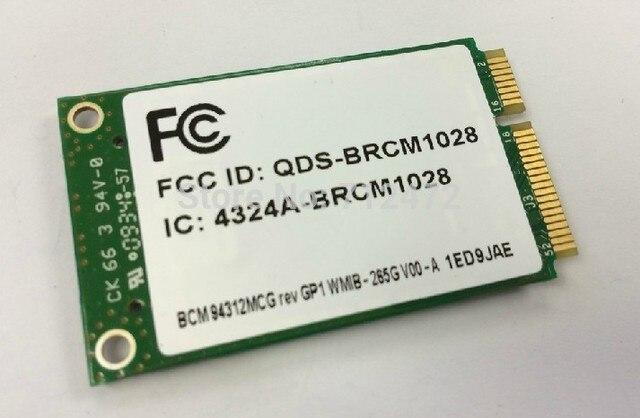 SSEA Wholesale Original New for Broadcom BCM94312MCG BCM4312 Wireless Mini PCI-E Card for HP 54Mbps