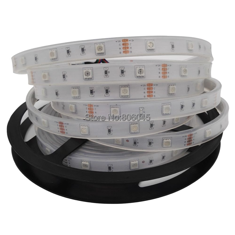 IP67 צינור סיליקון עמיד במים 5050 רצועת LED - תאורת לד