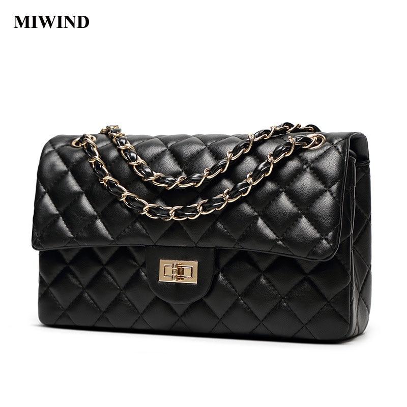 Miwind moda bolso de la alta calidad de la hebilla del bolso de las mujeres bols